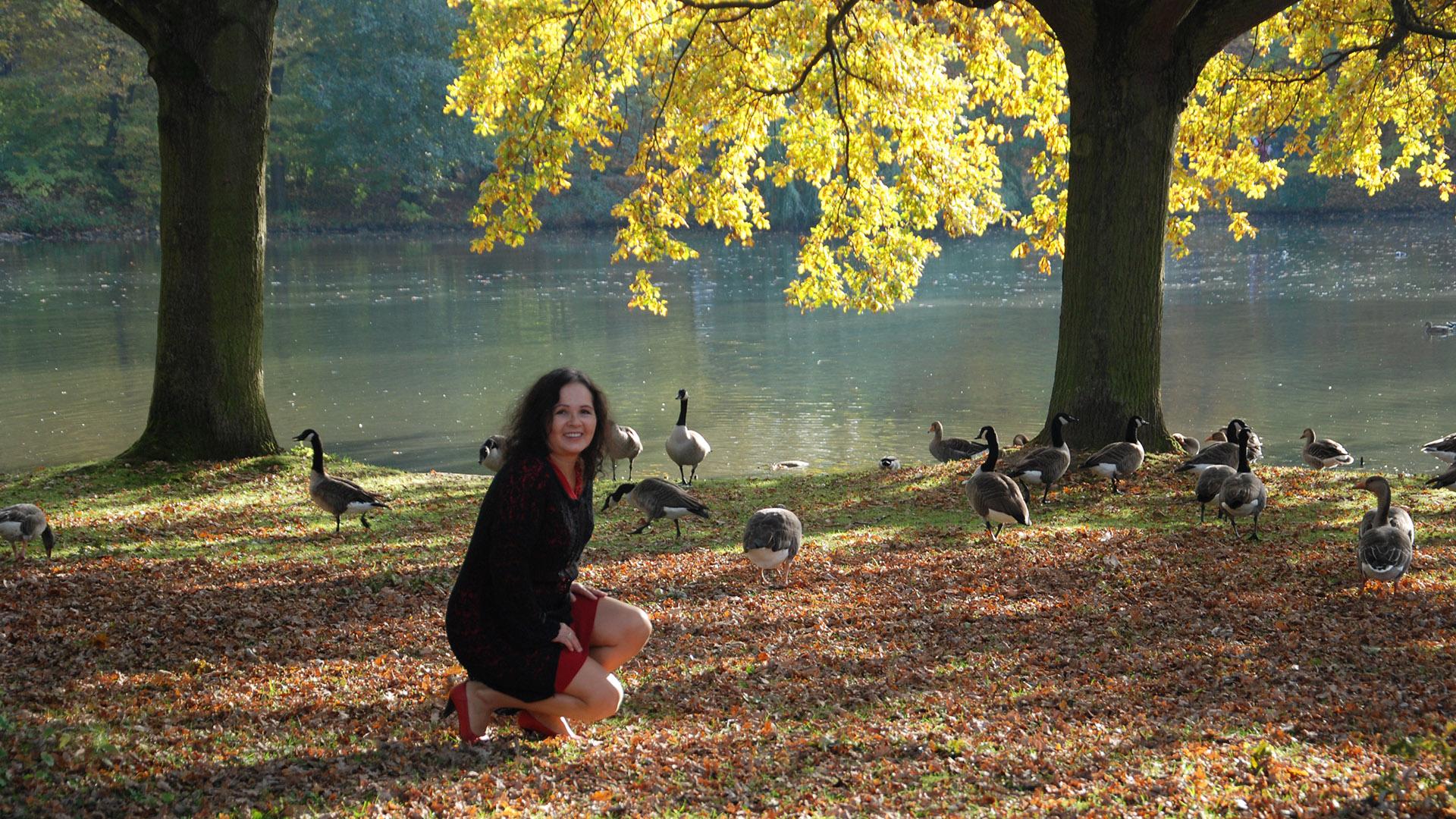 Kolory Jesieni Być Kobietą